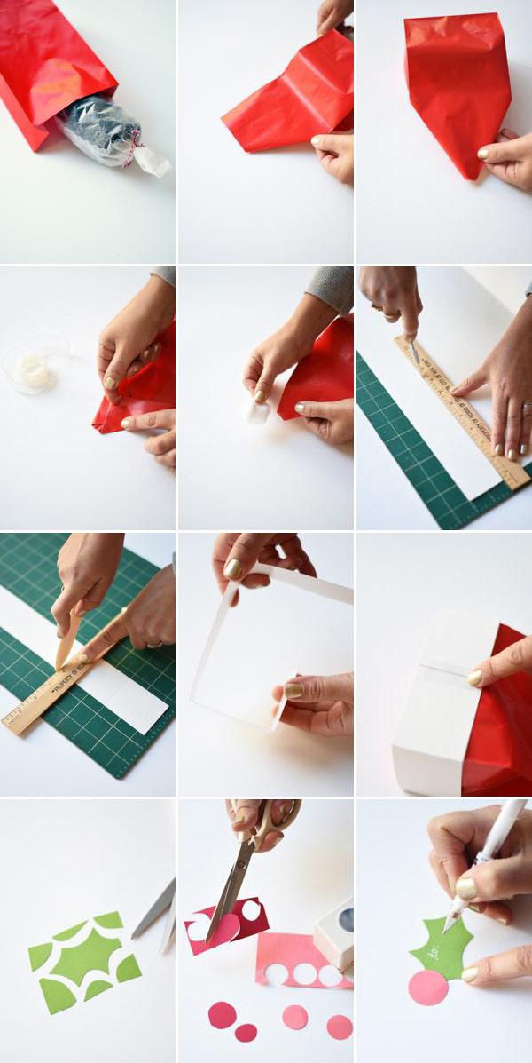 Santa Hat Bag DIY | Oh Happy Day!