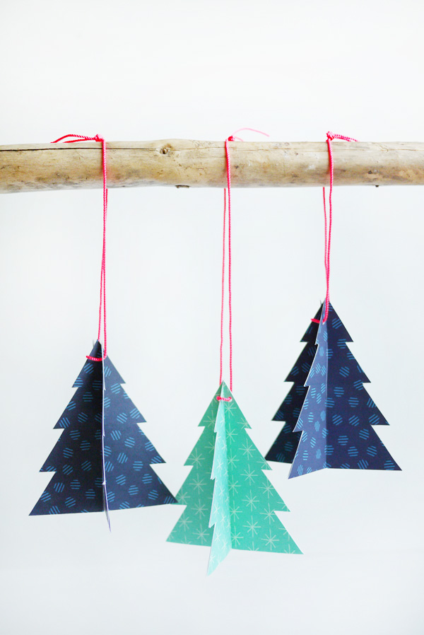 Printable Holiday Tree Ornaments | Oh Happy Day!