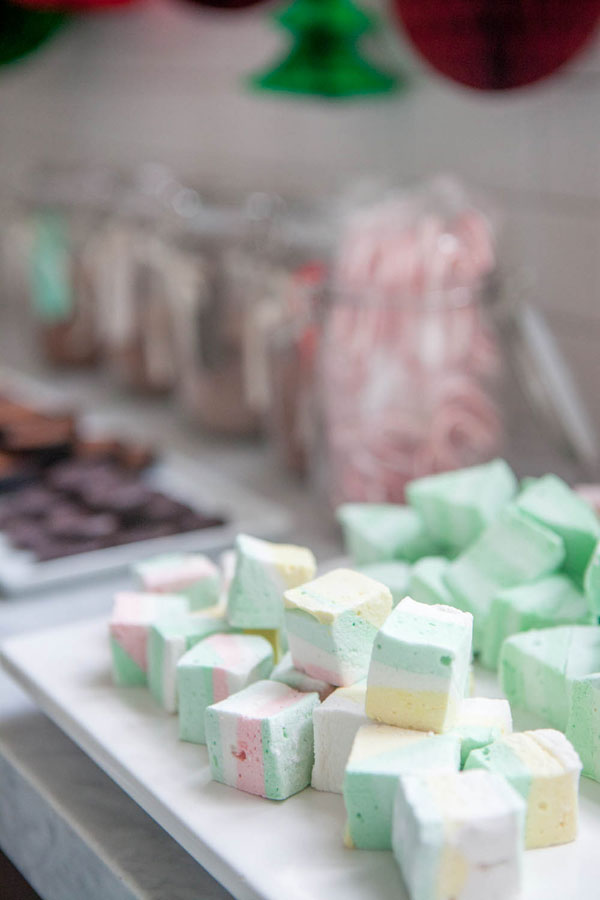 Hot Cocoa Bar + Marshmallow DIY | Oh Happy Day!