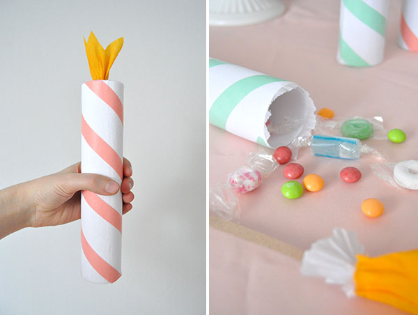 Birthday Candle Christmas Crackers | Oh Happy Day!