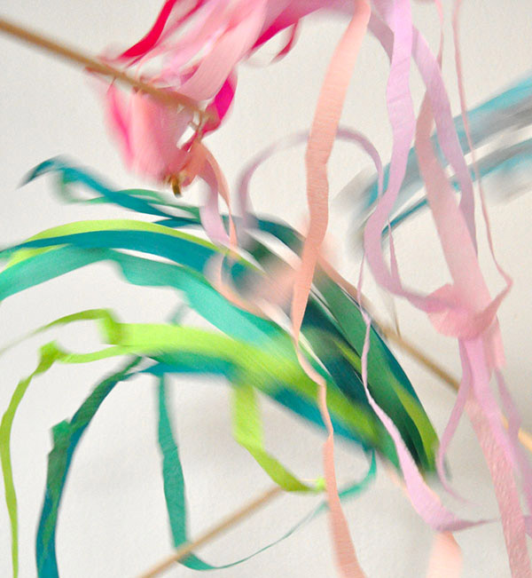 Crepe Paper Swirlers | Oh Happy Day!