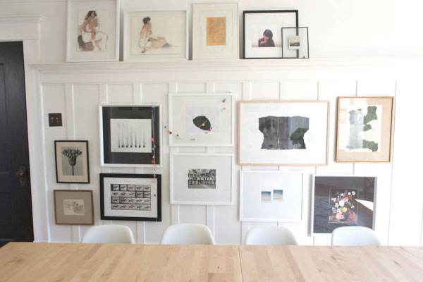 Gallery Wall | Oh Happy Day
