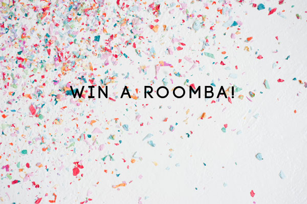 Win a Roomba on Oh Happy Day!
