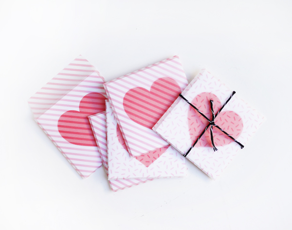 Last Minute Printable Valentine Cards & Envelopes | Oh Happy Day!