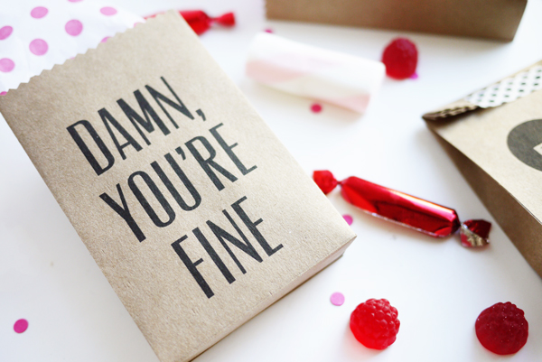 Printable Valentine Party Bags | Oh Happy Day!