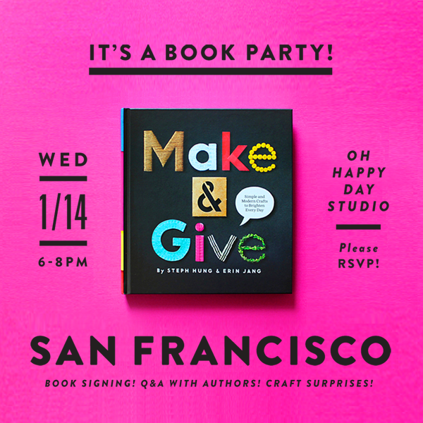 makeandgive-ohhappyday-party
