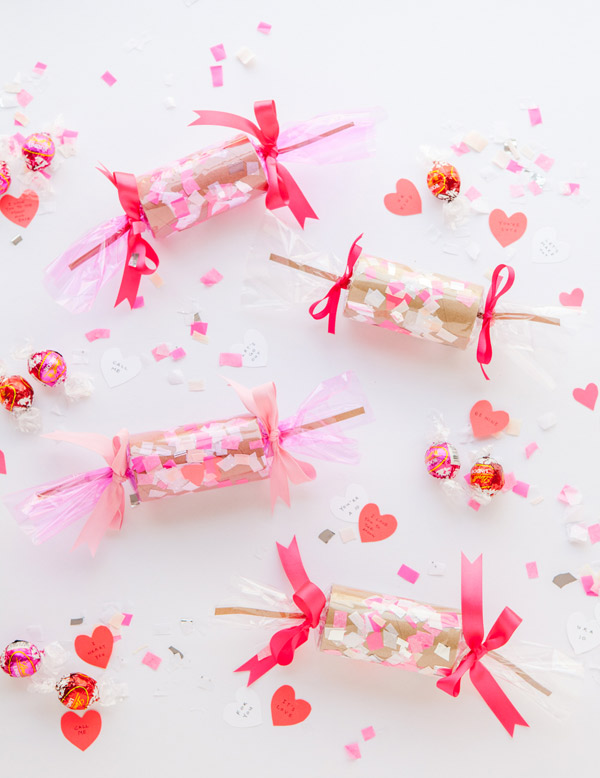 Valentines Crackers DIY | Oh Happy Day!