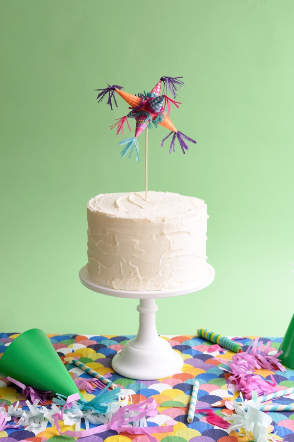 Mini Piñata Cake Topper (and Mobile) DIY | Oh Happy Day!