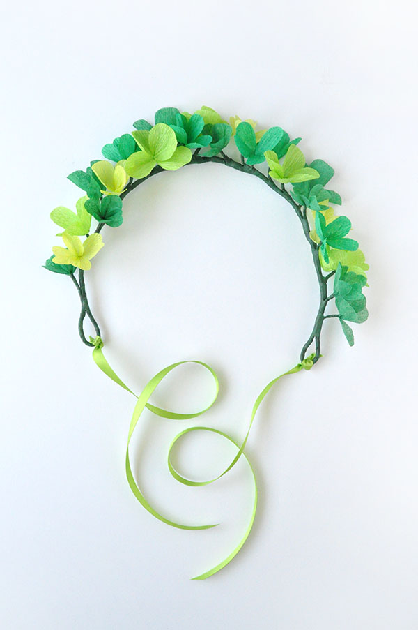 St Patrick's Day Clover Crown | Oh Happy Day!