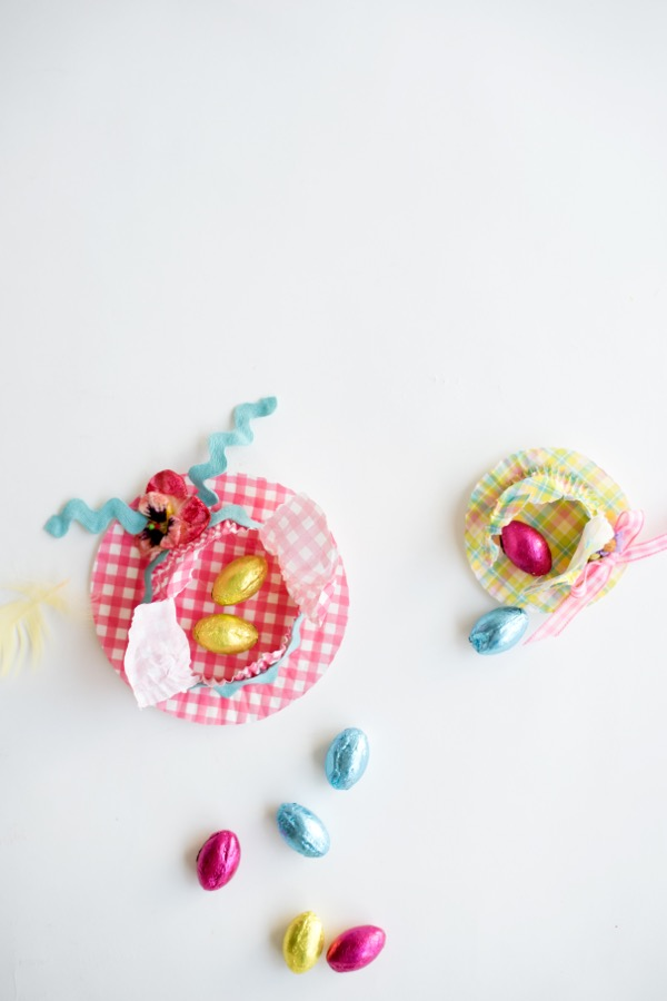 Easter Hat Favors DIY | Oh Happy Day!