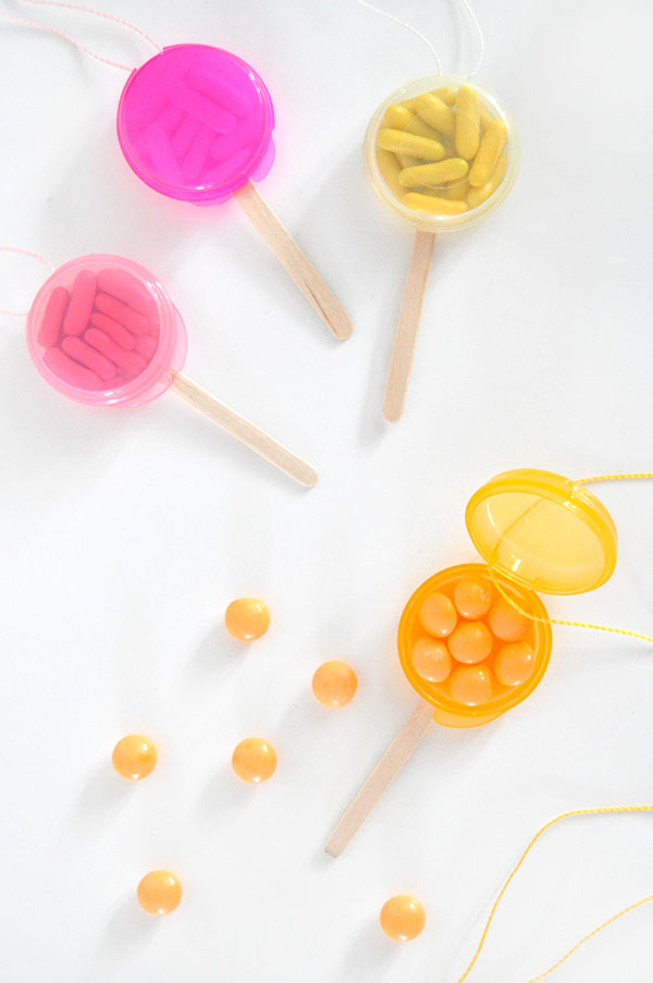 Lollipop Favor Necklaces | Oh Happy Day!