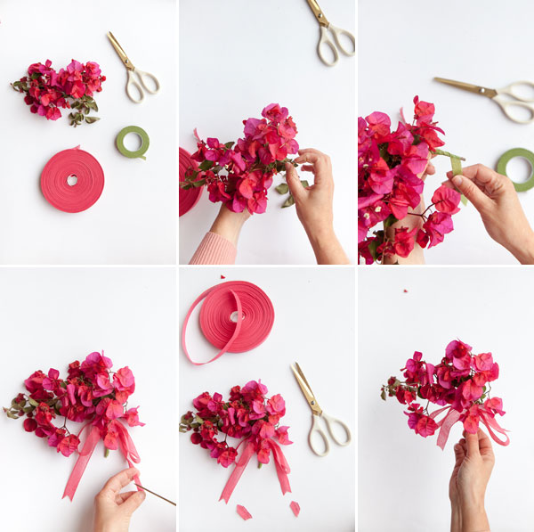Foraged Mother's Day Boutonnieres | Oh Happy Day!