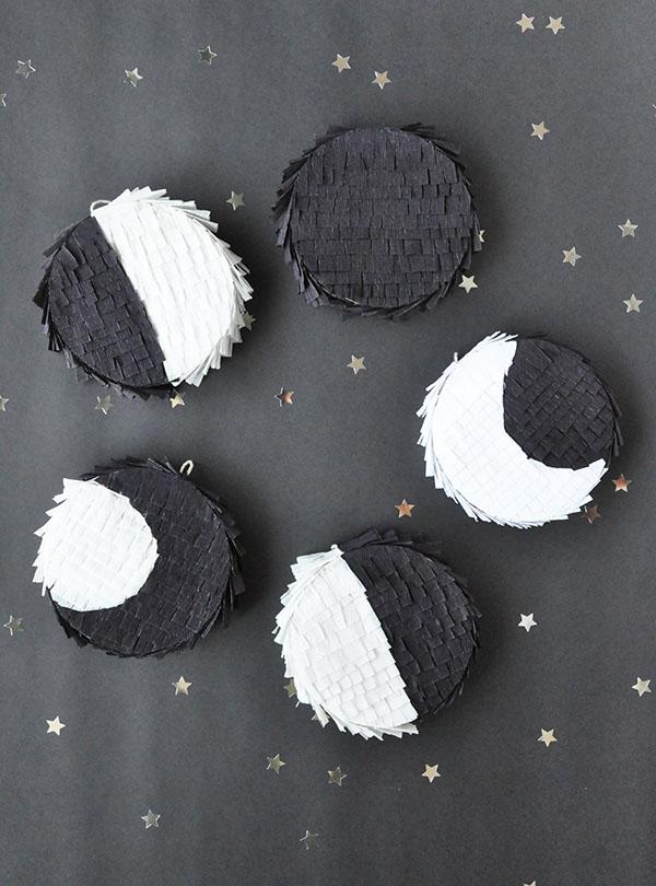 Moon Phase Piñatas | Oh Happy Day!
