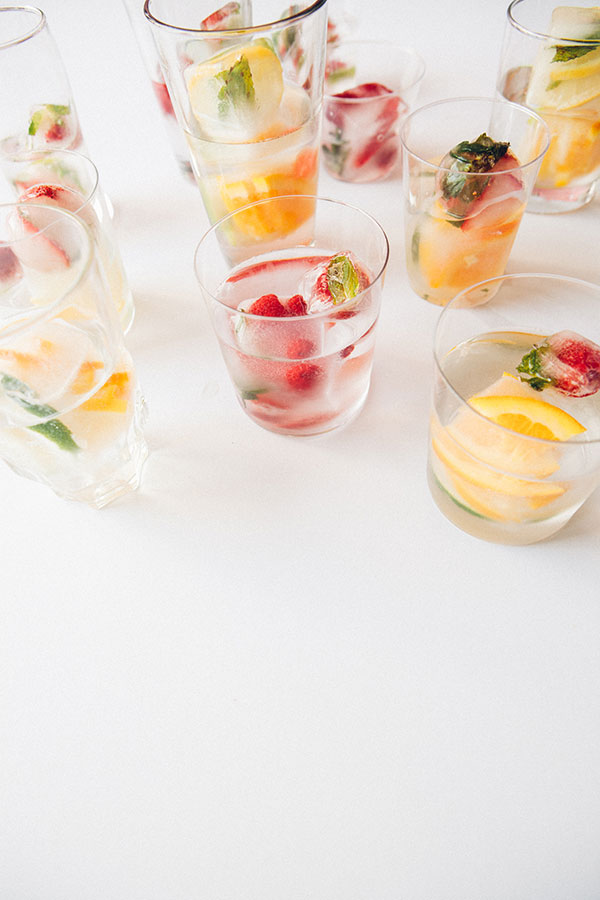 Infused Ice Cubes + Soma | Oh Happy Day!