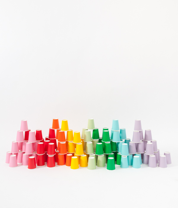Colorful Cups | Oh Happy Day!