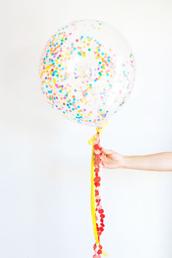 Donuts with Sprinkles Balloon DIY | Oh Happy Day!