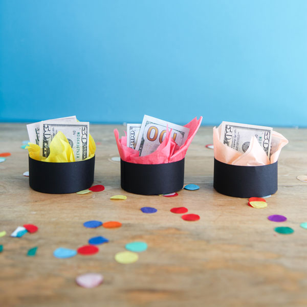 Graduation Cap Gift Boxes DIY | Oh Happy Day!