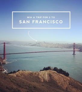 It's our Birthday! Win a trip to San Francisco!