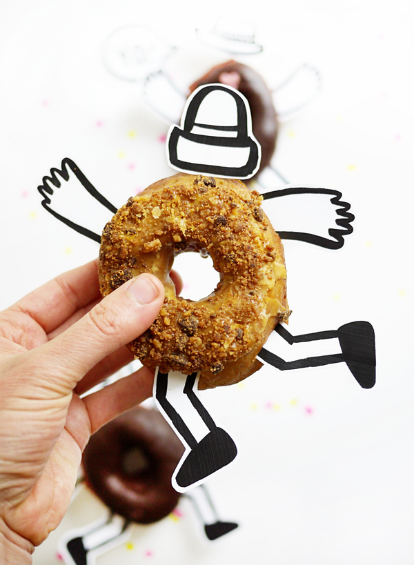 Printable Donut Buddies   Oh Happy Day!