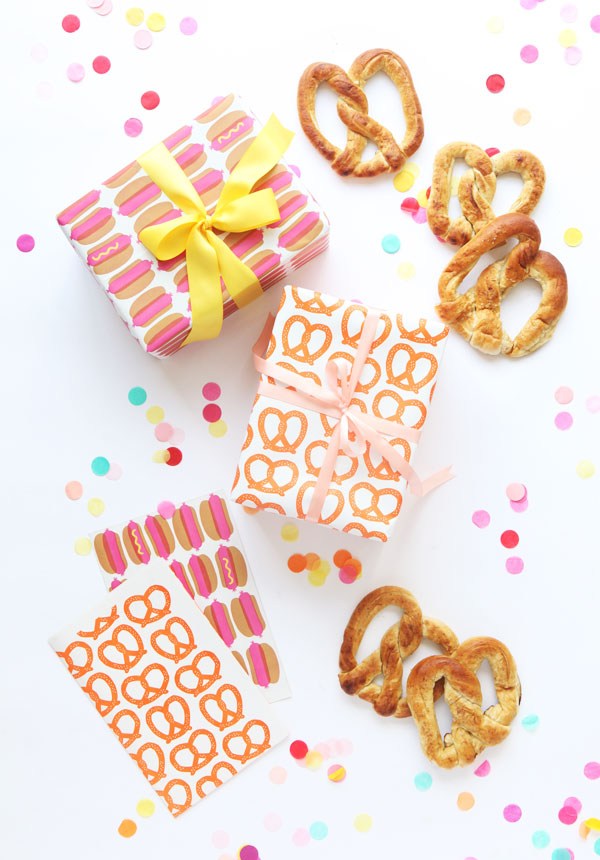 NYC Street Food Wrapping Paper
