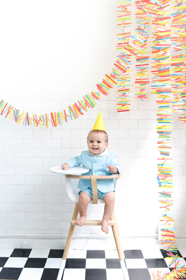 Rainbow Paper Mobile DIY | Oh Happy Day!