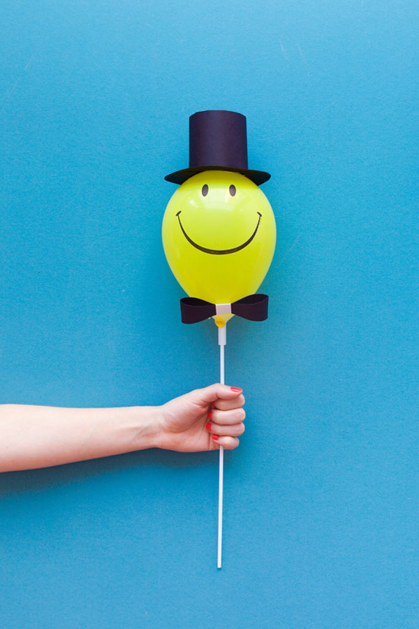 Mini Balloon Hats DIY | Oh Happy Day!
