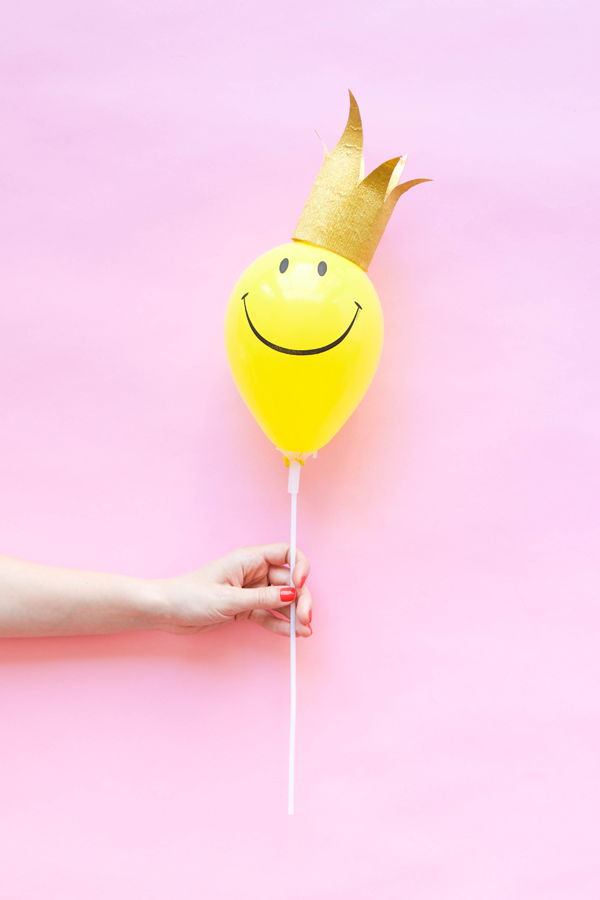Mini Balloon Hats DIY| Oh Happy Day!