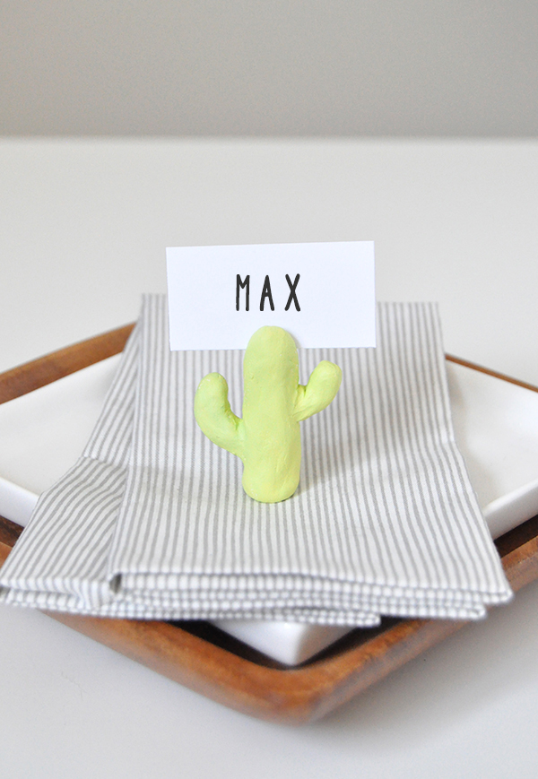Cactus Place Card Holders | Oh Happy Day!
