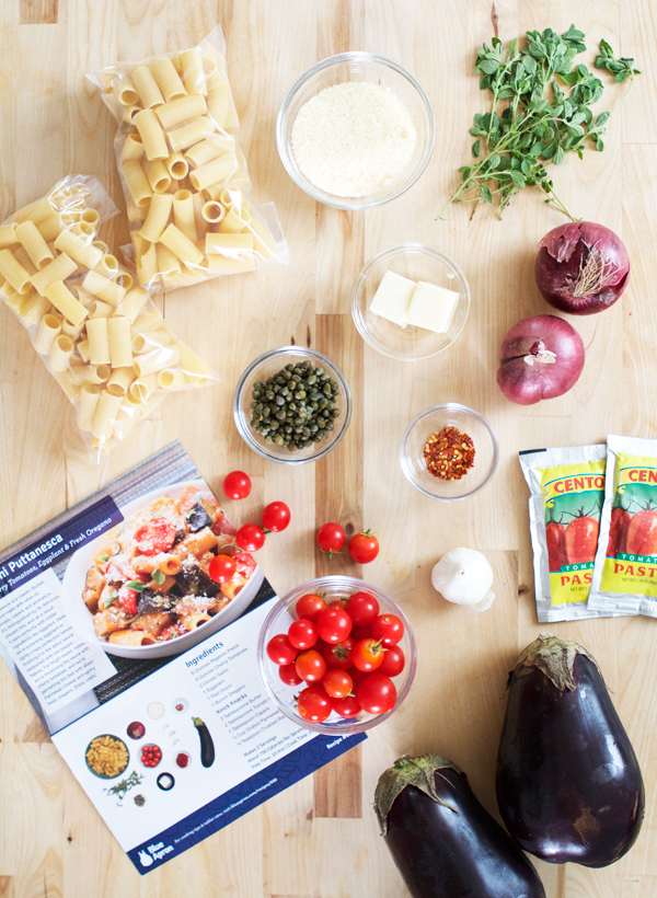 Blue Apron + Oh Happy Day!