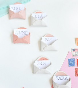 Mini Clay Envelopes | Oh Happy Day!