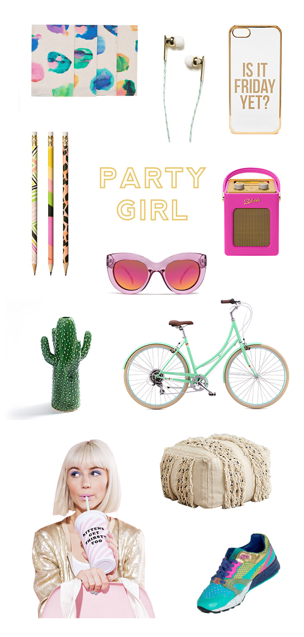 Party Girl    Oh Happy Day!