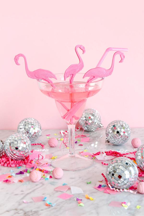 Flamingo Swizzle Sticks | Oh Happy Day!