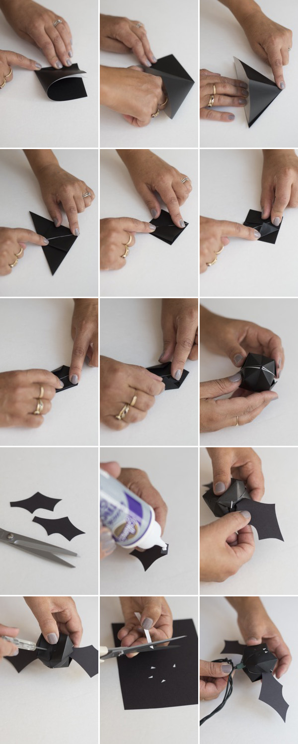 Bat Lights DIY | Oh Happy Day!