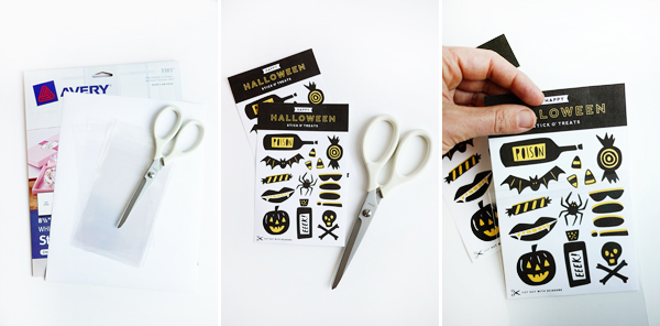 Printable Stick O' Treats | Oh Happy Day!