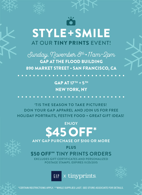 Style + Smile at Gap!
