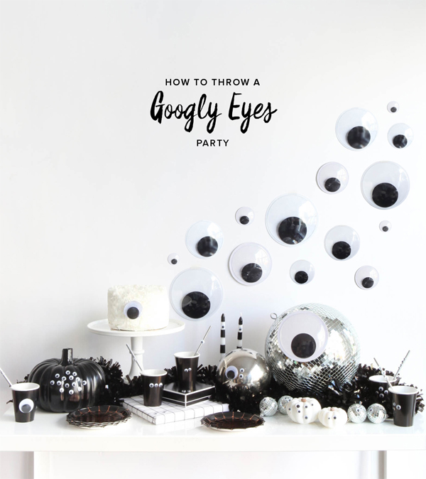 Googly Eyes Halloween Party | Oh Happy Day!