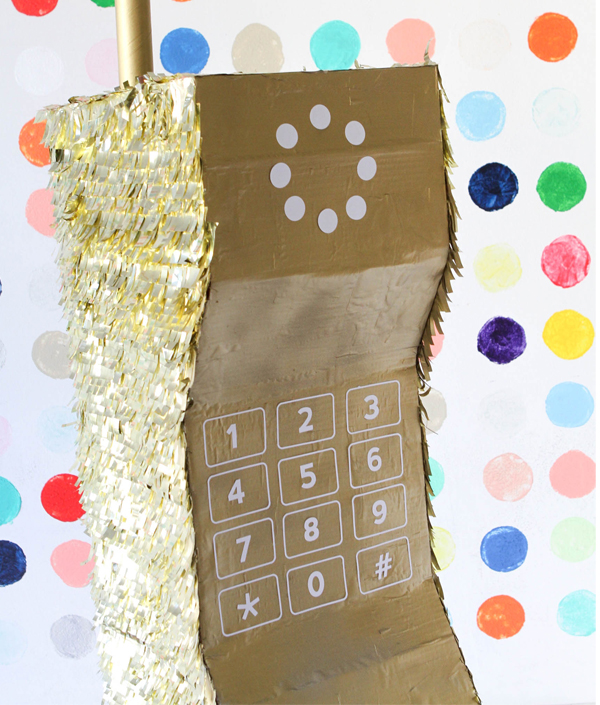 DIY Cell Phone Pinata | Oh Happy Day!