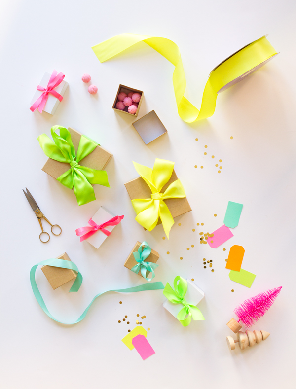 Neon Ribbon Advent Calendar | Oh Happy Day!