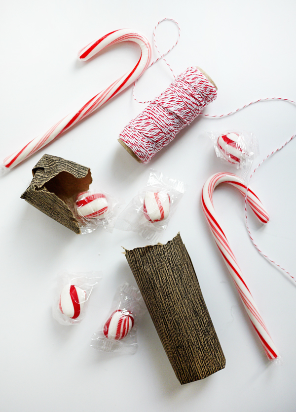 Printable Log Bundle Candy Poppers | Oh Happy Day!