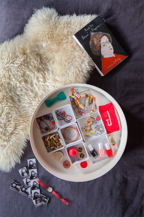 Bedside Organization | Oh Happy Day!