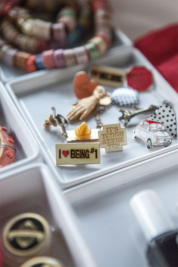 Bedside Organization | Oh Happy Day!