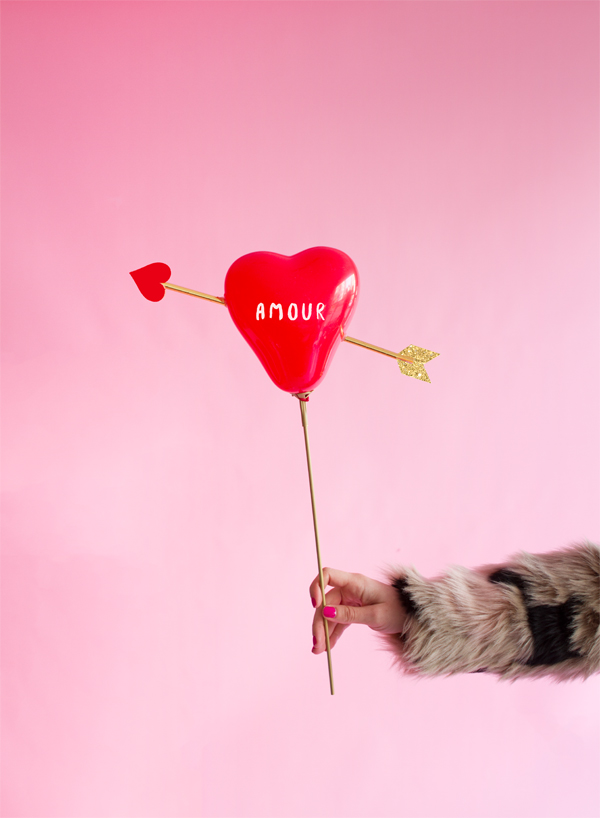 'Cupid's Heart' Balloon Sticks | Oh Happy Day!