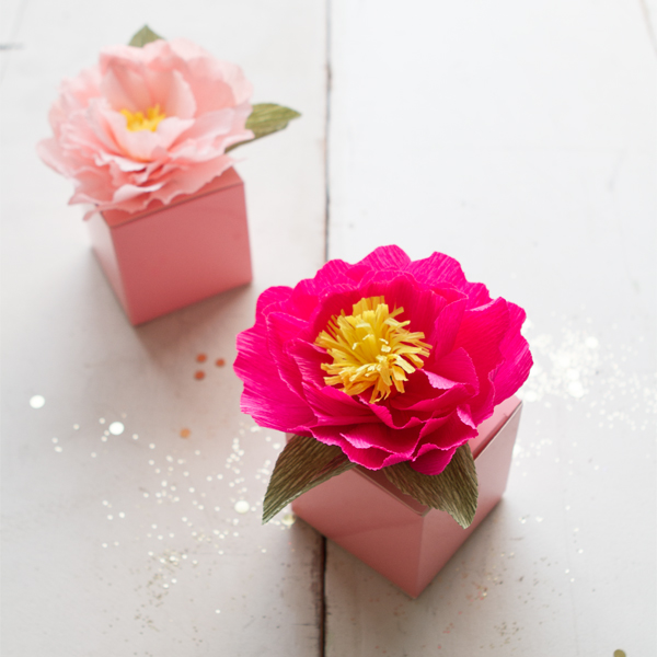 Peony Favors | Oh Happy Day!