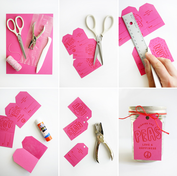 Printable Silly Valentine Tags | Oh Happy Day!