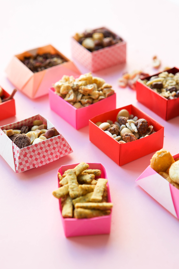 Origami Snack Boxes DIY | Oh Happy Day!