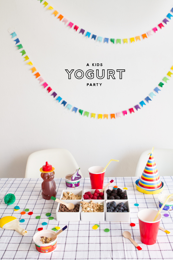 How to Host a Yogurt Party | Oh Happy Day!