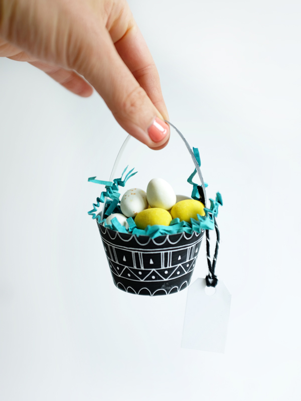 Printable Mini Patterned Egg Baskets   Oh Happy Day!