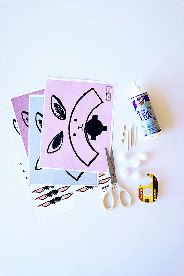 Bunny Cupcake Holders DIY + Recipe   Oh Happy Day!