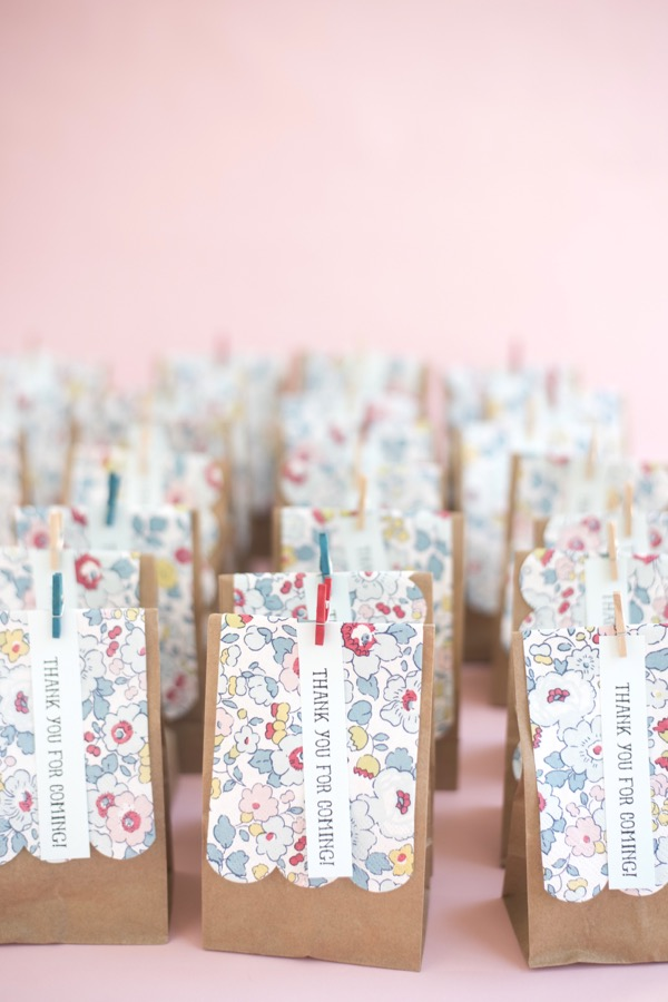 Liberty of london favor bags diy liberty favor bags diy oh happy day negle Images