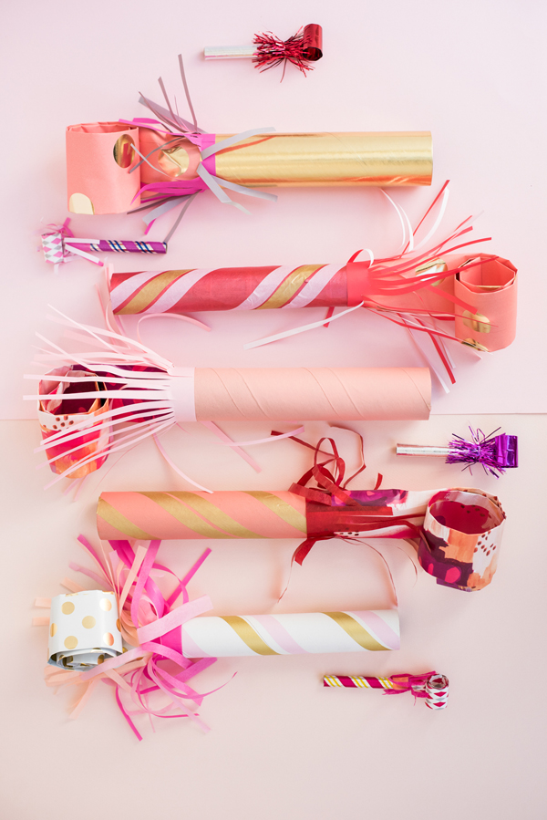Giant Party Blowers DIY | Oh Happy Day!